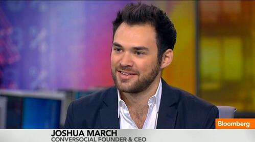 Joshua March's Interview on Bloomberg TV: Capitalizing on Social Media Shoppers